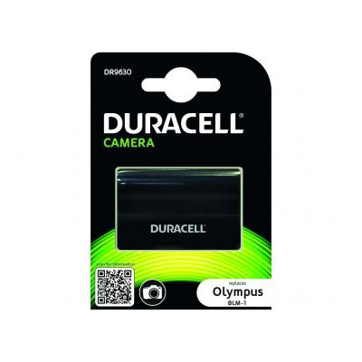 Duracell batterij: Camera Battery - replaces Olympus BLM-1 Battery - Zwart