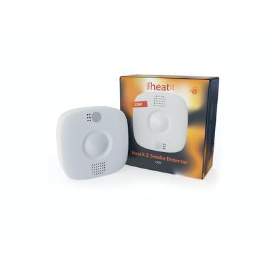 Heatit Serial fire detector with 4 functions Rookmelder