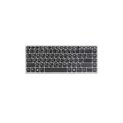 HP Keyboard (Netherlands), Black notebook reserve-onderdeel - Zwart