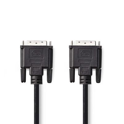 Nedis CCGP32000BK100 DVI kabel  - Zwart