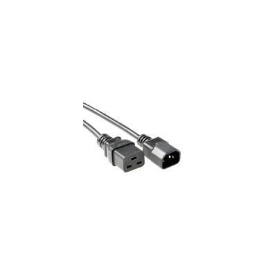 Intronics electriciteitssnoer: 230V aansluitkabel C14 - C19