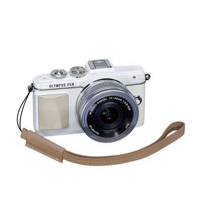 Olympus camera riem: E0410189 - Bruin