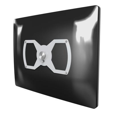 Dataflex ViewLite VESA 200x100 Mountingplate 020 Montagehaak - Zilver