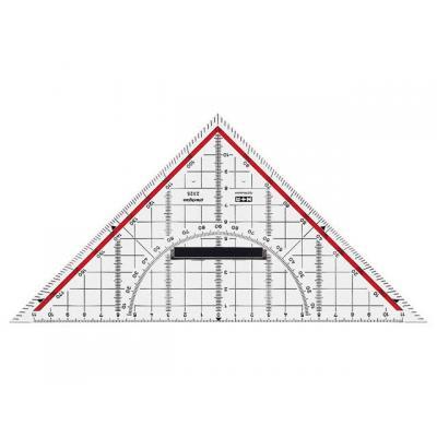 M+r driekhoek: Geodriehoek Aristo afn. grip 25 cm