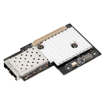 ASUS MCI-10G/82599-2S Netwerkkaart - Zwart, Grijs