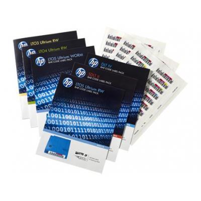 Hewlett Packard Enterprise Q2014A Labels voor opslagmedia