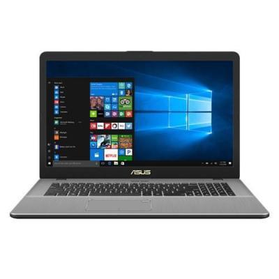 Asus laptop: VivoBook N705UD-GC127T - Grijs, Metallic