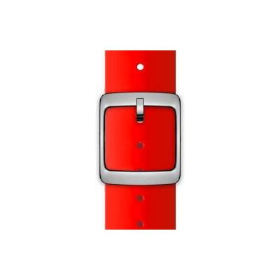 Nokia horloge-band: Silicone Wristband, 18mm - Rood