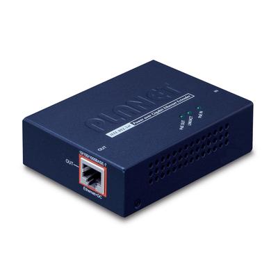 PLANET IEEE 802.3at Power over Gigabit Ethernet Extender Netwerk verlenger - Blauw