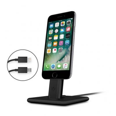 Twelvesouth mobile device dock station: HiRise Deluxe 2 - Zwart