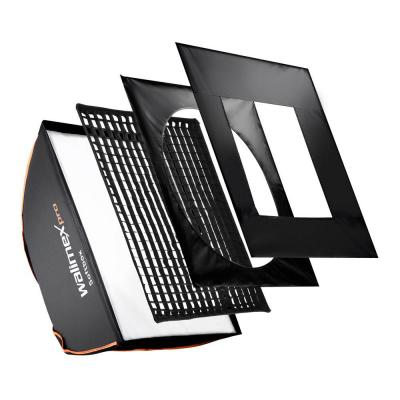 Walimex softbox: pro Softbox PLUS - Zwart