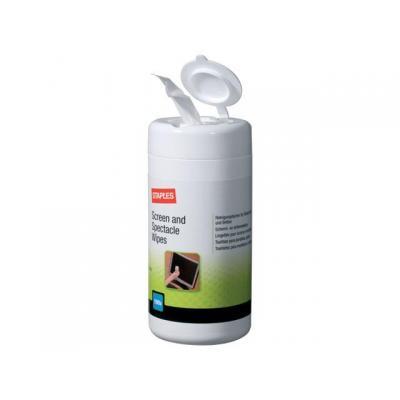 Staples schoonmaakmiddel: Reinigingsdoek SPLS 5622318 scherm/pk100