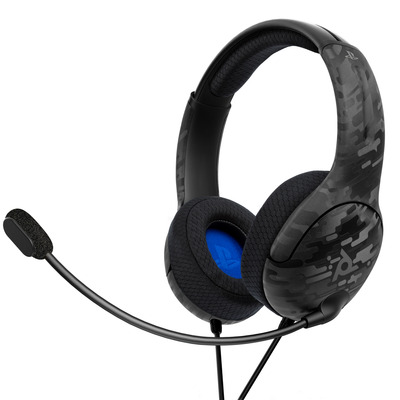 PDP LVL40 Stereo Headset - Black Camo (PS4) Koptelefoon