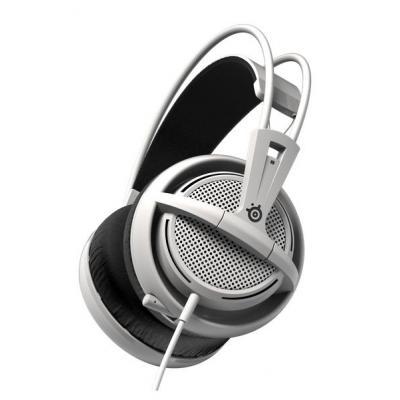 Steelseries headset: Siberia 200 - Zwart, Wit