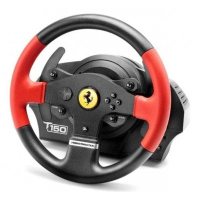 Thrustmaster game controller: T150 Ferrari Wheel Force Feedback - Zwart, Rood