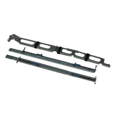 Hp montagekit: Rack Mount Kit with Cable - Zwart, Metallic