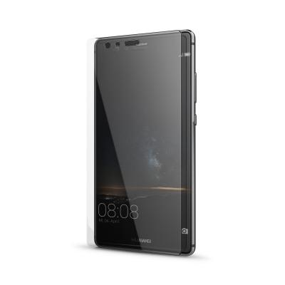 Behello screen protector: Huawei P9 Full Cover High Impact Glass Black - Transparant