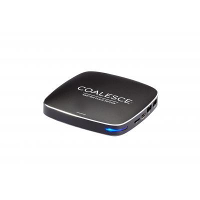 Black box : HDMI, RJ-45, USB 2.0, USB 3.0, 108x108x21mm, 600g, Black - Zwart