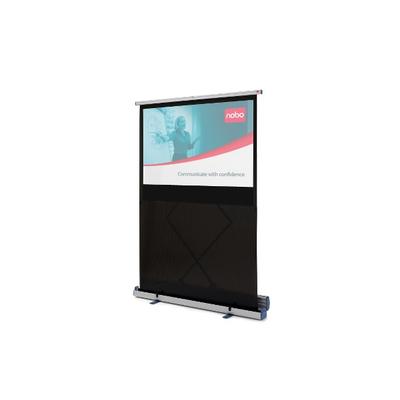 Nobo Portable 160 x 100 cm, vloer, breedbeeld Projectiescherm