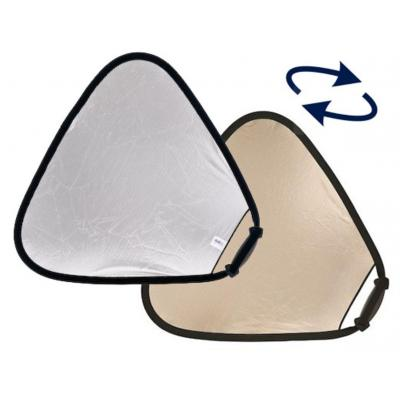 Lastolite fotostudioreflector: Trigrip Reflector, 75cm, Sunlite/Soft Silver - Goud, Zilver