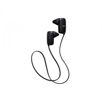 Jvc koptelefoon: 20 - 20000 Hz, 9 mm, Neodymium, Bluetooth 3.0, 7 h, IPX2, Black - Zwart