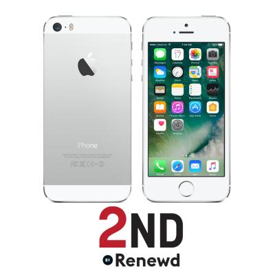 2nd by renewd smartphone: Apple iPhone 5S refurbished door 2ND - 64GB Zilver (Refurbished ZG)