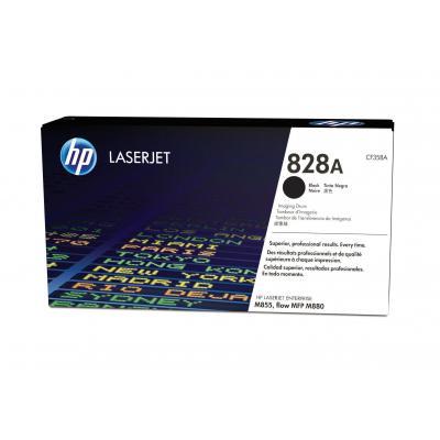 Hp drum: 828A zwarte LaserJet fotogevoelige rol