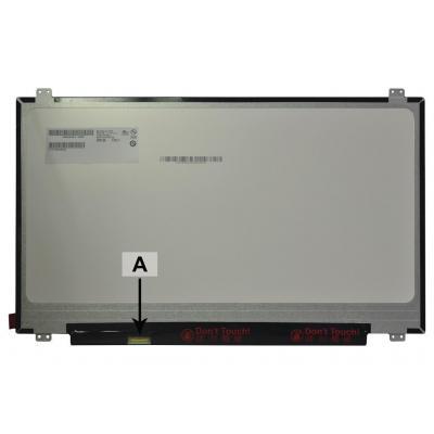2-power notebook reserve-onderdeel: 17.3 1600x900 LED Matte - Zwart