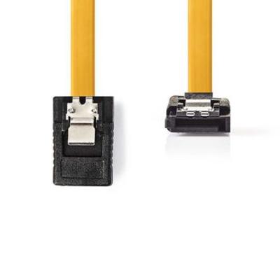 Nedis Datakabel SATA 6 Gb/s, SATA 7-Pins Female met Vergrendeling - SATA 7-Pins Female 90° Gehoekt met .....