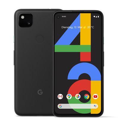Google Pixel 4a Smartphone - Zwart 128GB