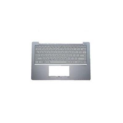 Acer notebook reserve-onderdeel: Upper Cover/Keyboard (Nordic), White - Wit