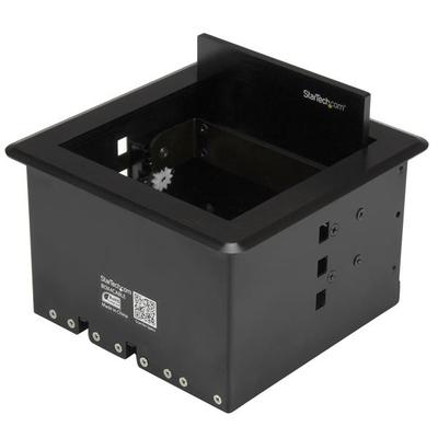 StarTech.com Kabelbox voor vergadertafel inbouw kabelmanagement - Zwart