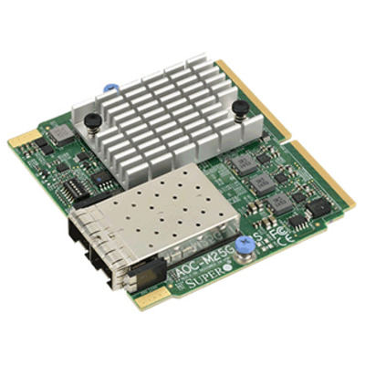 Supermicro AOC-M25G-i2S Interfaceadapter - Groen