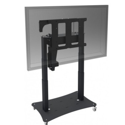 Iiyama TV standaard: Tip & Touch stand (motorized tip function), up to 60kg - Zwart