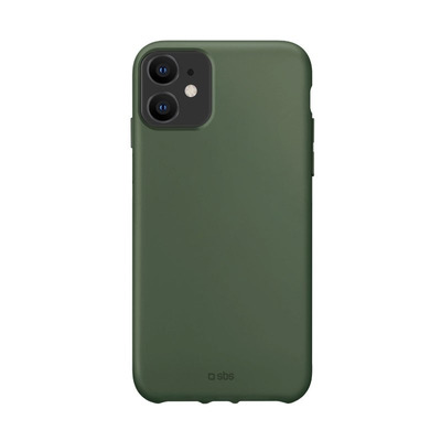SBS TPU case, Green, Recycled plastic, for iPhone 12/12 Pro Mobile phone case - Groen
