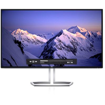 Dell monitor: S Series S2718HN - Zwart, Zilver
