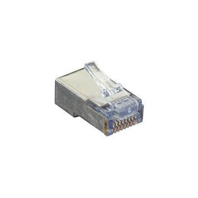 Black Box SHIELDED CAT5E EZ-RJ45 MODULAR PLUGS, 50-PACK Kabel connector