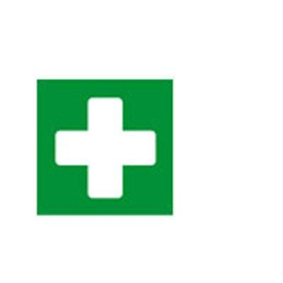 Apli pictogram: 12141, First aid, 114 x 114 mm - Groen, Wit
