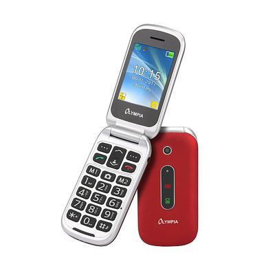 Olympia Mira Mobiele telefoon - Rood