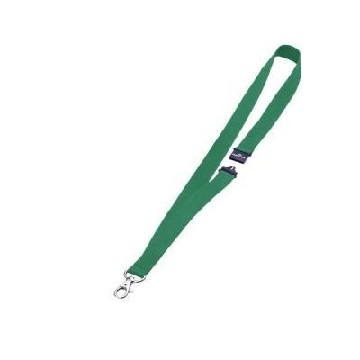 Durable badge: Textielkoord 20 met veiligheidssluiting - Groen