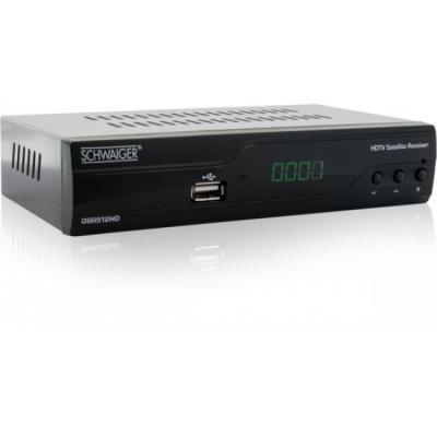 Schwaiger ontvanger: DSR512HD - Zwart