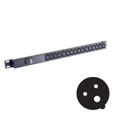 Black Box Standard C13 Power Strips Energiedistributie - Zwart