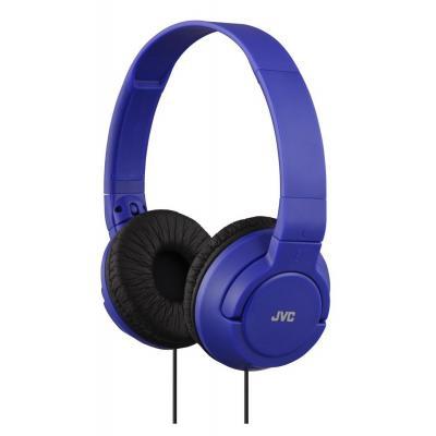 Jvc koptelefoon: 10 - 20000 Hz, 30mm, 1.2m, Blue - Blauw