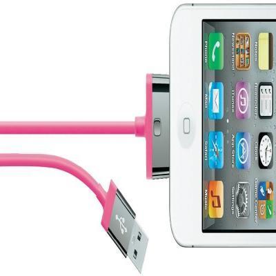 Belkin USB kabel: MIXIT ChargeSync, 2m - Roze