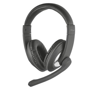 Trust RENO Headset - Zwart