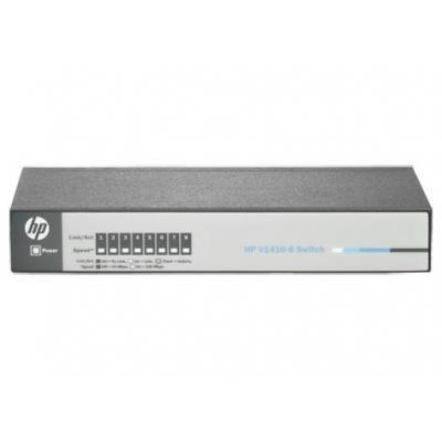 Hewlett packard enterprise switch: V 1410-8 - Grijs