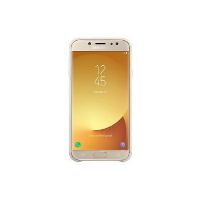 Samsung mobile phone case: Dual Layer Cover for Galaxy J7 (2017), Gold - Goud