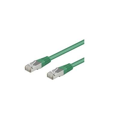 Goobay CAT 5-200 FTP Green 2m Netwerkkabel