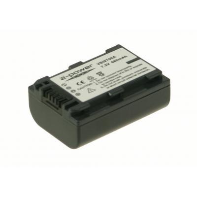 2-power batterij: VBI9700A - Zwart