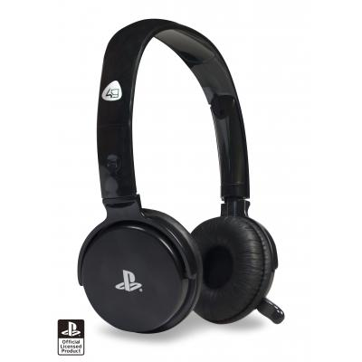 4gamers game assecoire: CP-01BLK Stereo Gaming Headset (Zwart)  PS3